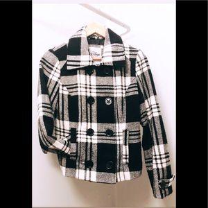 Plaid Wool Fall Jacket